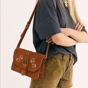 Free People Marie Floral Shoulder Bag
